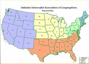 Regionalization Map