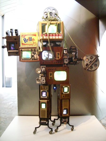 Andy Warhol Robot by Nam June Paik