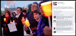 Obama's Facebook page